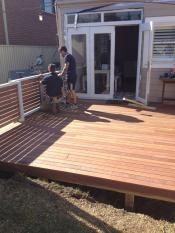 decking north devon.